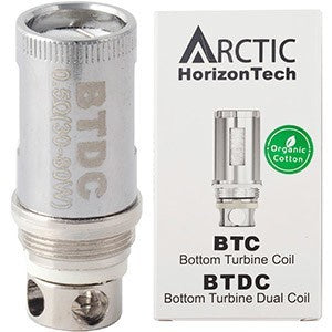 Arctic Bottom turbine Dual Coil 0.2ohm - Each - The JuicyJoint