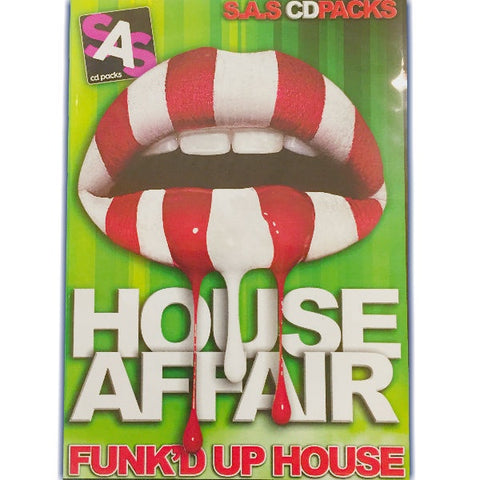 House Affair - Funk'd Up House 4 x CD Pack - The JuicyJoint