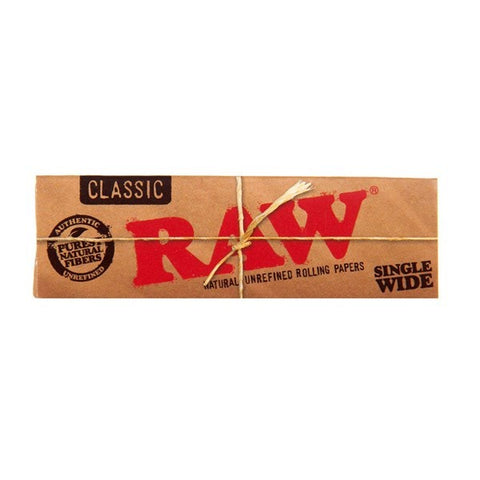 Raw - Classic Single Wide Papers - The JuicyJoint