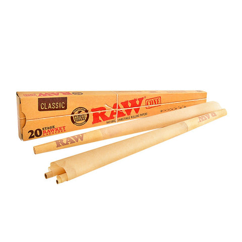 RAW - 20 Stage Rawket Launcher Cone Pack