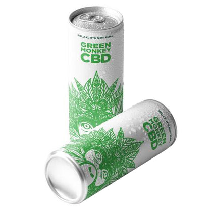 Green Monkey 250ml - CBD Soft Drink 10mg