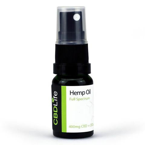 SALE!! CBD Life - Hemp Oil Spray 400mg CBD+CBDa