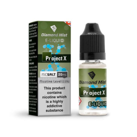 Diamond Mist E-liquid Nicotine Salts 20mg 10ml
