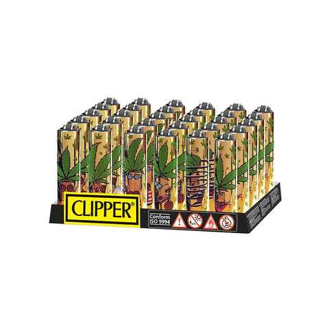 Mini Clipper - Gold Pineapple Metal Sleeve