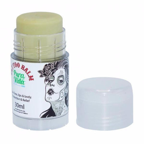 Pura Vida 30ml CBD Tattoo Balm - The JuicyJoint