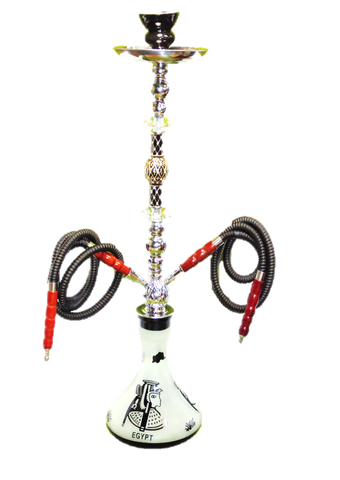 Shisha Pipe - 2 Person, 75cm, Blue