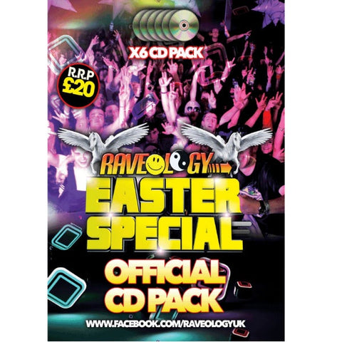 Raveology Easter Special 2018 - 6 x CD Pack - The JuicyJoint