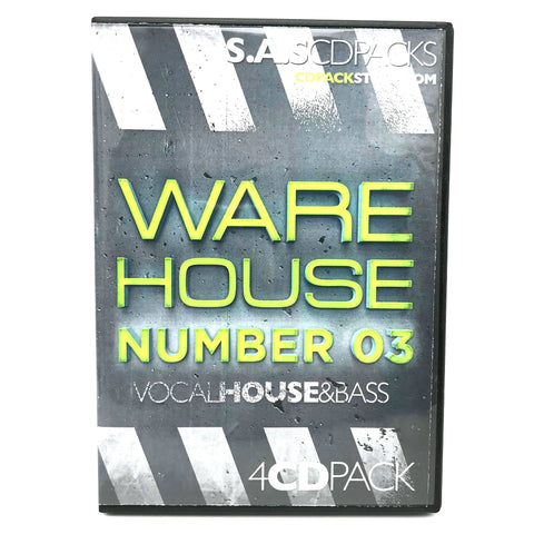 Warehouse Number 3 - 4 x CD Pack