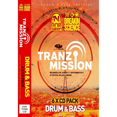 Tranzmission 2019 - Drum And Bass CD Pack