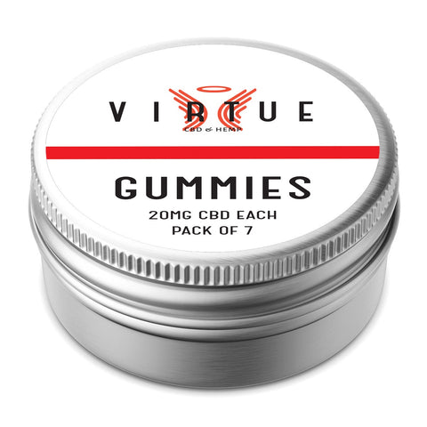 SALE!! CBD Virtue 7 x Gummies - 140mg per pack