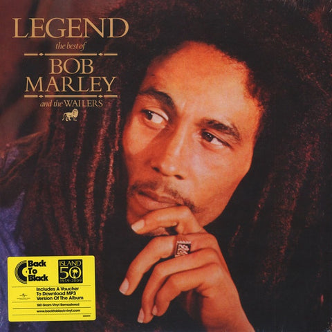 Bob Marley & The Wailers ‎– Legend - The Best Of Bob Marley And The Wailers LP - The JuicyJoint