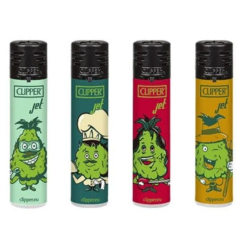 Clipper- Jet Flame Lighter Weed Cogollo's