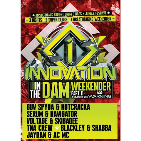 Innovation In The Dam weekender - 6  x CD Pack Part 2 - The JuicyJoint