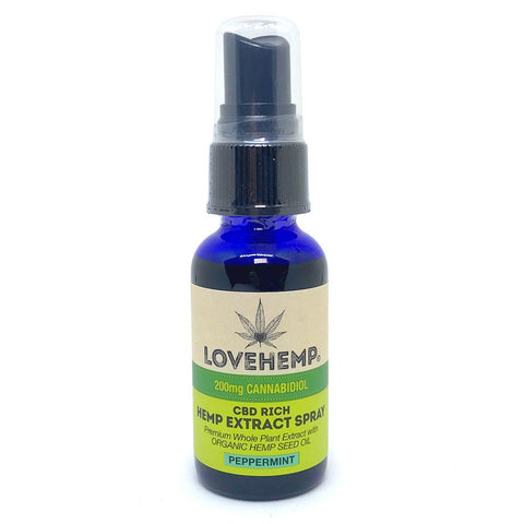 Love Hemp™ 200mg CBD Oil Spray – 30ml