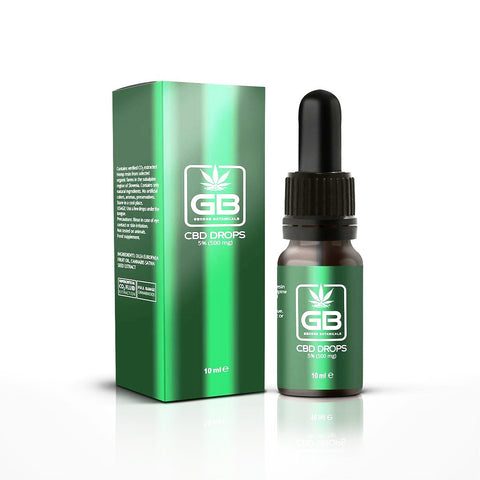 George Botanicals - CBD Oil Drops 10ml