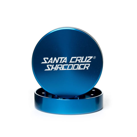 Santa Cruz Shredder - Metal Grinder 2pc Medium Blue