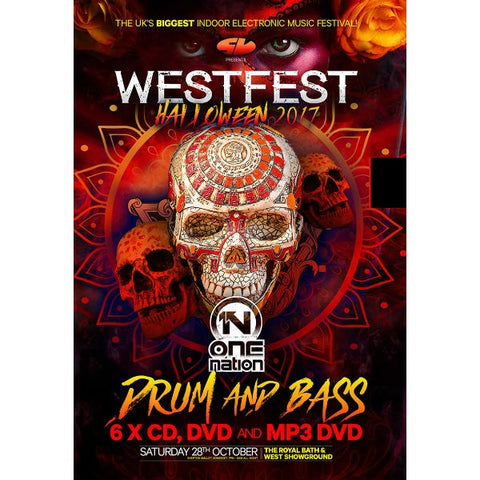 Westfest Halloween Drum And Bass 2017 CD Pack