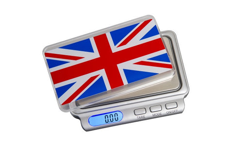 ON BALANCE TW-100-GB Special Edition Union Jack Truweigh 100g x 0.01g - The JuicyJoint