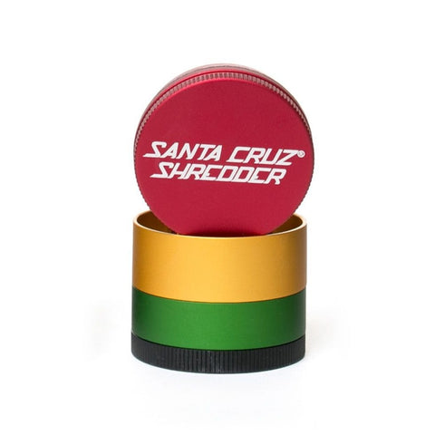 Santa Cruz Shredder - Metal Grinder 4pc Small Rasta