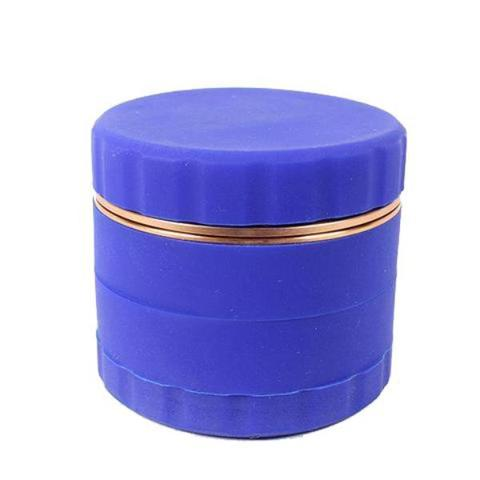 SALE!! Silicone 63mm Atomic Grinder with Aluminium Metal Teeth and Sifter