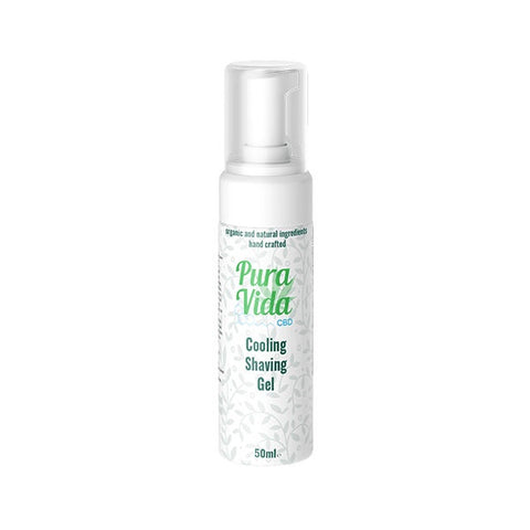 Pura Vida CBD Cooling Shaving Gel & Cleanser