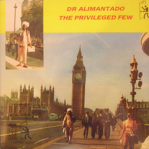 Dr Alimantado - The Privileged few CD Album - The JuicyJoint