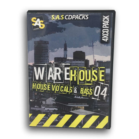 Warehouse Number 4 - 4 x CD Pack