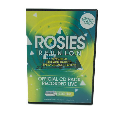 Rosies Reunion - May Bank Holiday 2019 - 6 x CD Pack
