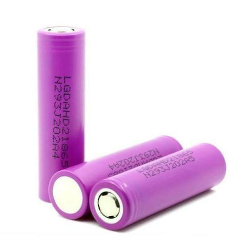 LG HD2 18650 2000mAh 25A Battery (Pink) - The JuicyJoint