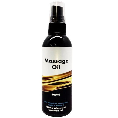 LiveWell CBD - Full Spectrum 300mg Massage Oil 100ml