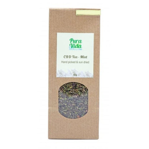 Pura Vida CBD Tea 40g - The JuicyJoint