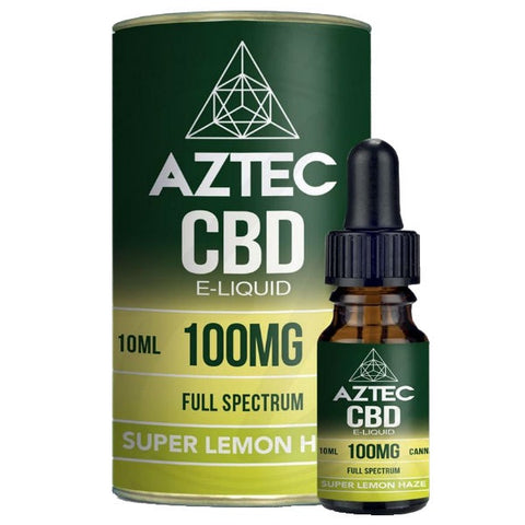 Aztec Full Spectrum CBD E-Liquid 10ml