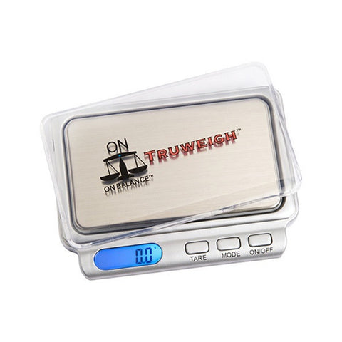 ON BALANCE TW-600-SL Truweigh Pocket Scale 600g x 0.1g - The JuicyJoint