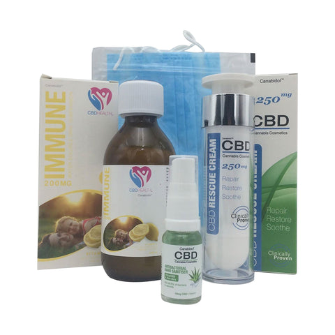 Canabidol - Sanitise, Immunise, Repair & Protect CBD Bundle