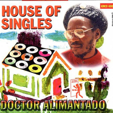 Dr Alimantado - House Of Singles Vinyl Album - The JuicyJoint