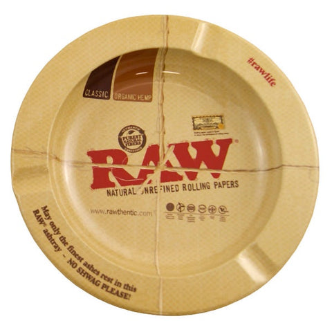 "Raw - Magnetic Metal Ashtray 5.5"" Diameter"