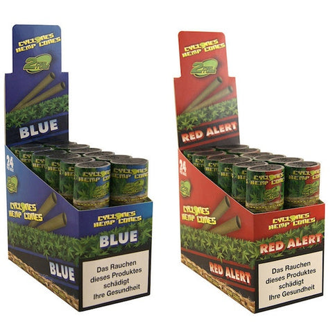 Cyclones - 2 x Hemp Blunts in 4 New Flavours - The JuicyJoint
