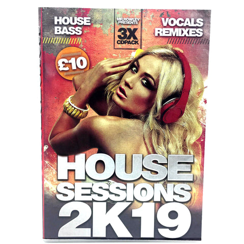 House Sessions 2K 19 - 3 x CD Pack
