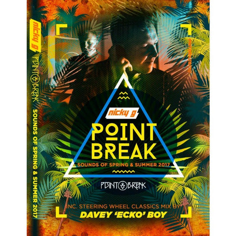 Nicky G - Point Break 4 x Cd Pack The Sounds Of Spring & Summer 2017 - The JuicyJoint
