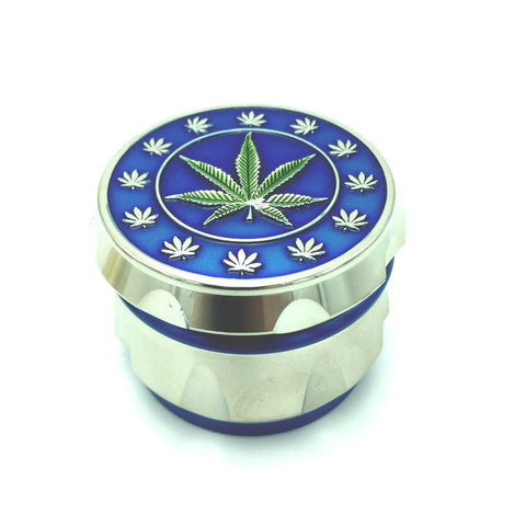 60mm Metal 4 Part Grinder - Multi Leaf