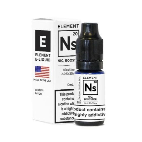 Ns 20 Nic Salt Booster 10ml By Element E-Liquids - The JuicyJoint