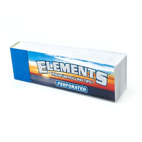 Elements - Perforated - Chlorine Free - Rolling Tips