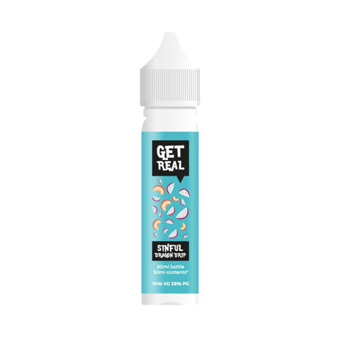 SALE!!! Get Real - Premium E-liquids 50ml Short Fill  0mg