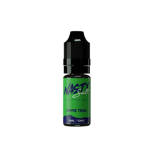 Nasty Salts - Nicotine Salt E-Liquid 10mg 10ml