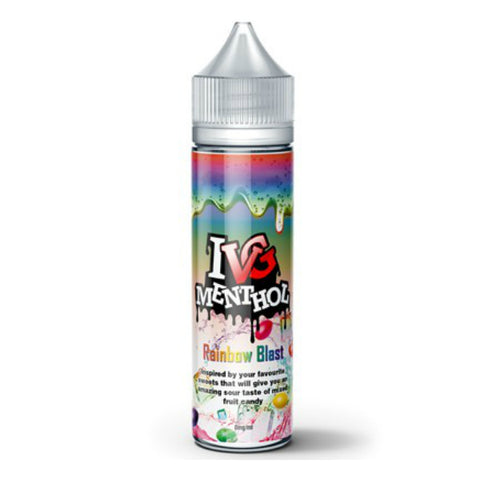 SALE!!! I VG Menthol Range E-Liquid - 50ml Short Fill 0mg