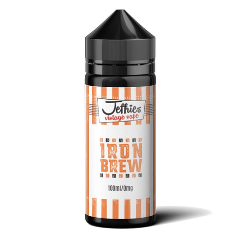 Jeffries Vintage Vape E-liquid - 100ml Short Fill 0mg Free 2 x Nic Shots
