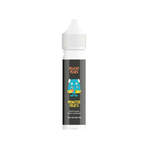 Monster Fruits - Premium E-liquid 50ml Short Fill 0mg