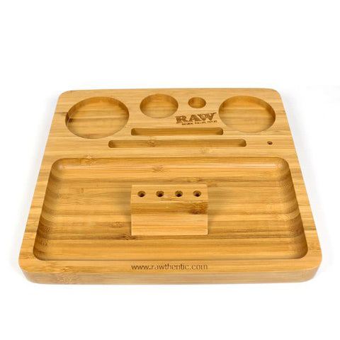 Raw - Bamboo Rolling Tray - The JuicyJoint