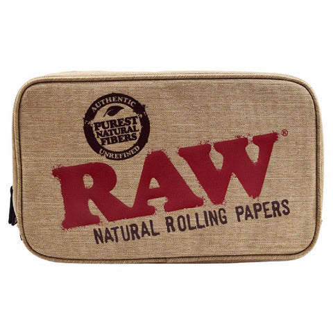 Raw - Smell Proof Smokers Pouch - Stash Storage Bag