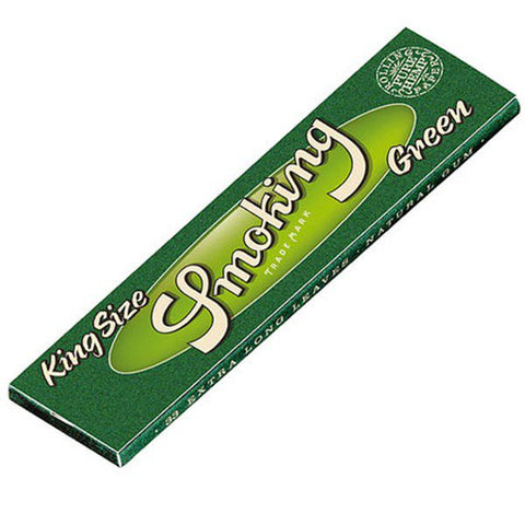 Smoking Green - King Size Hemp Rolling Papers